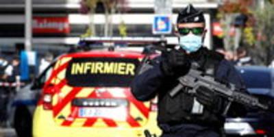 Messerattacke in Kirche in Nizza: Angreifer tötet drei Menschen