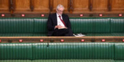 untersuchung wegen antisemitismus: labour suspendiert corbyn