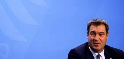 Bayerns Ministerpräsident Söder rechtfertigt die neuen Corona-Beschlüsse