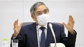 Schwache Wirtschaft: Japans Zentralbank hält an lockerer Geldpolitik unverändert fest