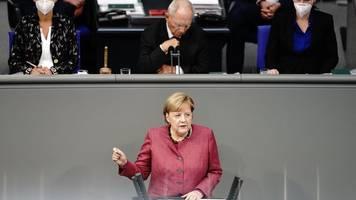 Ruf nach Solidarität: Merkel verteidigt harte Einschnitte gegen Corona