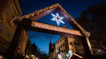 stuttgart: weihnachtsmarkt abgesagt,  einzelne stände erlaubt