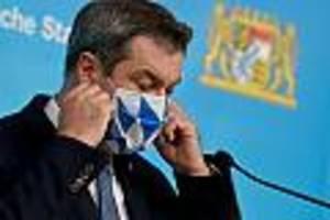Corona-Pandemie  - Söder will Katastrophenfall in Bayern ausrufen - noch härtere Regeln geplant