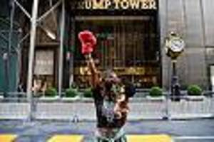 """US-Wahl - """"New York hasst dich"""": In seiner Heimatstadt ist Trump nicht mehr willkommen"""