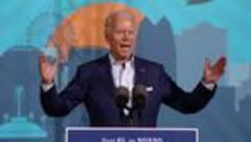 US-Wahlkampf: Joe Biden wirft Donald Trump Superspreader-Events vor