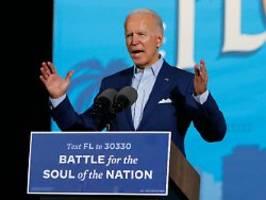 Duell um Florida: Biden wirft Trump Superspreader-Event vor