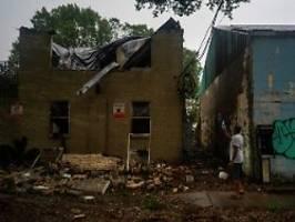 Millionen Haushalte ohne Strom: Hurrikan Zeta hinterlässt Schäden und Tote
