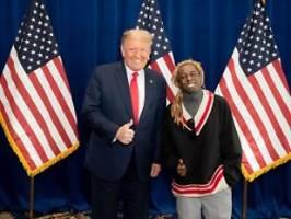 Ungebildeter Rapper: Lil Wayne schwärmt von Treffen mit Trump