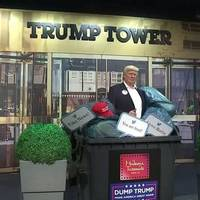 Video: Dump Trump: Madame Tussauds entsorgt Trump-Figur