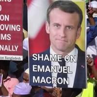Video: Proteste gegen Frankreich dauern an