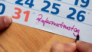 reformationstag zum vierten mal feiertag in niedersachsen