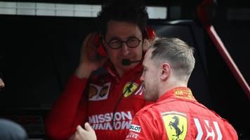 Formel 1: Ferrari-Teamchef probte Vettels Abservierungstelefonat