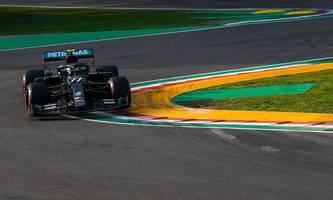 Formel 1: Bottas sichert sich Pole Position in Imola