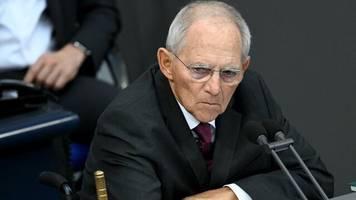 abstimmung: schäuble gegen briefwahl für künftigen cdu-vorsitz