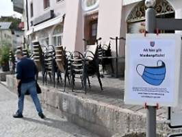 entspannung in berchtesgaden: früher lockdown half in corona-hotspot