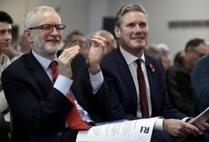 labour-partei nimmt ex-vorsitzenden corbyn wieder auf