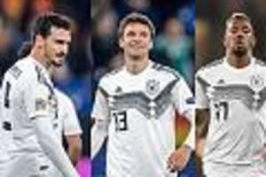 Löw muss handeln - Nationalmannschaft am Tiefpunkt - Jetzt helfen nur noch Hummels, Boateng und Müller