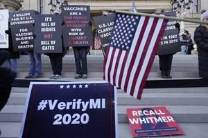 Trump-Team zieht Klage gegen Wahlausgang in Michigan zurück