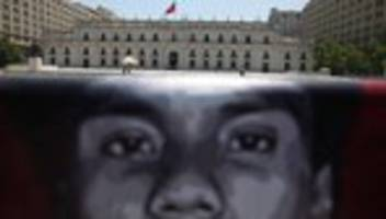 Chile: Polizeichef in Chile tritt nach Kritik an Polizeigewalt zurück
