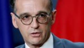 Rechtsextremismus: Heiko Maas warnt vor internationaler Vernetzung rechtsextremer Szene