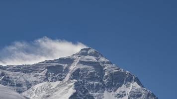 In über 8400 Metern Höhe: Mikroplastik in der Todeszone des Mount Everest