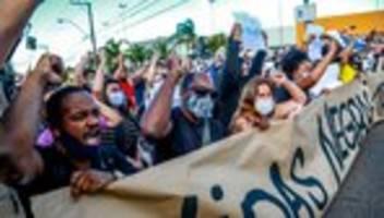 Brasilien: Jair Bolsonaro warnt vor Spaltung durch Anti-Rassismus-Demos