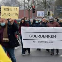 Demos in Leipzig und anderen Städten gegen Corona-Auflagen