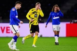 Hertha BSC: Haaland schockt Hertha – 2:5 gegen Dortmund