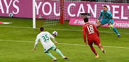 Längste Siegesserie der Bundesliga gerissen - Bayern strauchelt gegen Werder