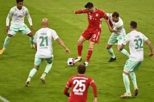 FC Bayern nur Remis zum Flick-Jubiläum gegen Bremen