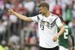 """Nach deutschem Debakel in Spanien - """"Bin nicht zurückgetreten"""" - Bayern-Star Müller liebäugelt mit Rückkehr ins DFB-Team"""