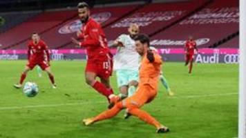 Bayern München - Werder Bremen 1:1, 8. Spieltag
