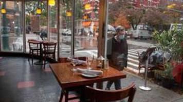 Corona-Krise in New York: Überlebenskampf der Restaurants