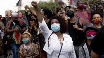 proteste in brasilien nach gewaltsamem tod eines schwarzen