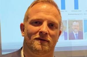 Bürgermeisterwahl: Toni Köppen ist neuer Bürgermeister von Bad Segeberg