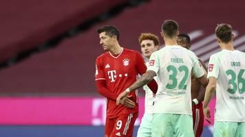 Unentschieden gegen Werder: Verärgerte Bayern beim Flick-Jubiläum