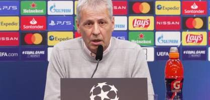 Lucien Favre zur Pause von Jadon Sancho gegen Hertha BSC