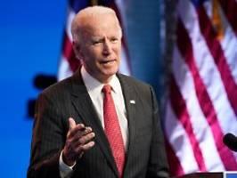 Rund zwei Wochen verloren: Biden unter Zeitdruck bei Amtsübernahme