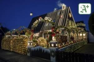 Niedersachsen: Weihnachten extrem: Den Borcharts gehen 60.000 Lichter auf