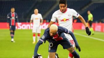champions league: neymar trifft - rb leipzig verpasst coup bei psg