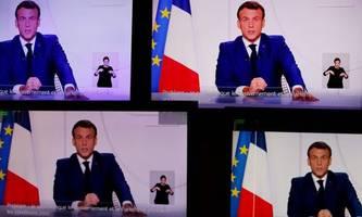 Macron lockert Beschränkungen: Der Höhepunkt der zweiten Welle ist vorbei