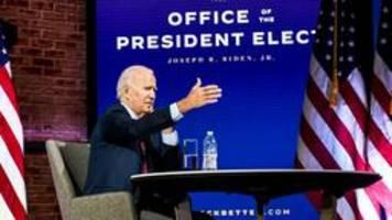 Joe Biden stellt Kandidaten für seine Regierung vor