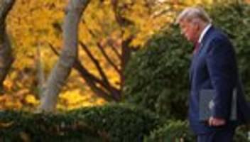 Donald Trump: Rückzug im Kriechgang