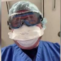 Eindringlicher Videoappell: Arzt stellt nach, wie die letzten Minuten eines sterbenden Covid-19-Patienten aussehen