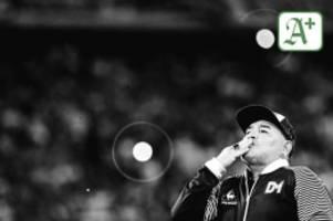 Nachruf: Diego Maradona ist tot - Der Ball war sein Freund