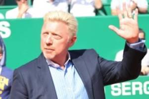Tennis: Boris Becker gibt Amt als Herren-Chef des DTB auf