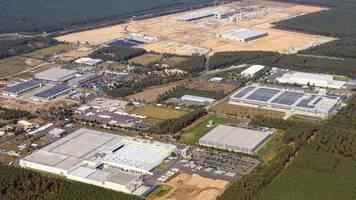 Große Pläne von Elon Musk: Tesla-Werk in Grünheide soll auch noch zur weltgrößten Batteriefabrik werden