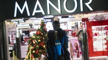 angriff in warenhaus - in den hals gestochen: terrorermittlungen in der schweiz
