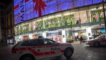 Terrorverdacht nach Angriffen in der Schweiz