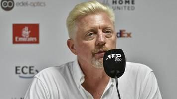 boris becker gibt posten im deutschen tennis bund auf – dtb bedauert rückzug